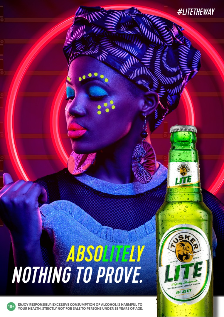 Tusker Lite- Absolitely Nothing To Prove