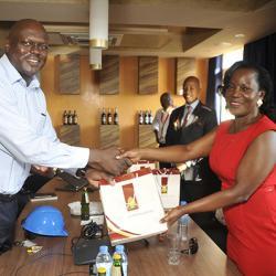 Jennifer Musisi visits Uganda Breweries