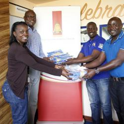 Uganda Breweries takes part in Rotary Cancer Run