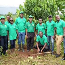 UBL plants Trees in Butambala