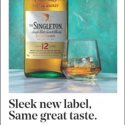 Meet the new Singleton Bottle