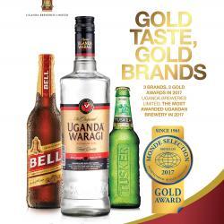 Uganda breweries most awarded Ugandan brewery for 2017